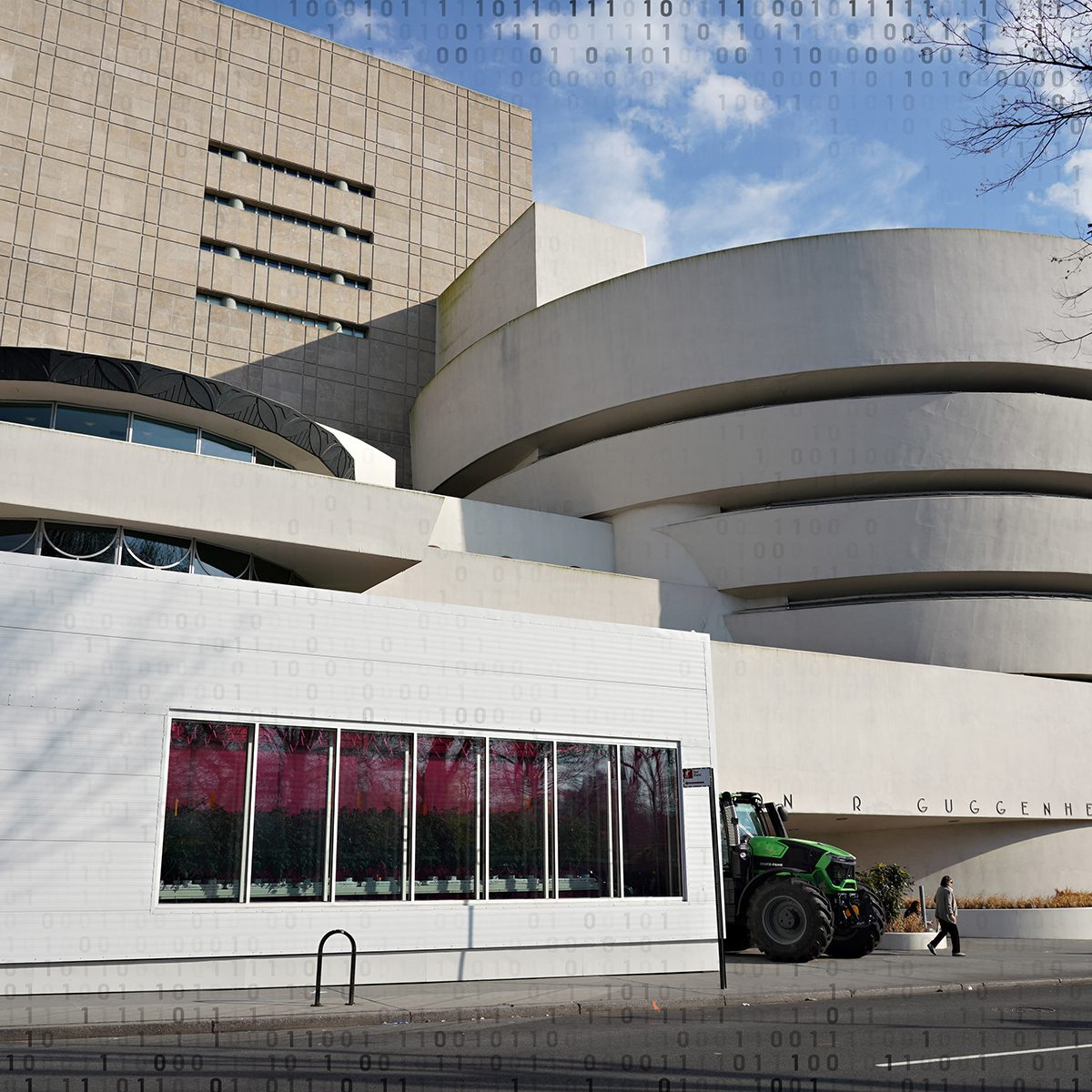 NEW YORK, NEW YORK - MARCH 20: A view of the temporarily closed Guggenheim Museum as the coronavirus continues to spread across the United States on March 20, 2020 in New York City. The World Health Organization declared coronavirus (COVID-19) a global pandemic on March 11th. (Photo by Cindy Ord/Getty Images)
