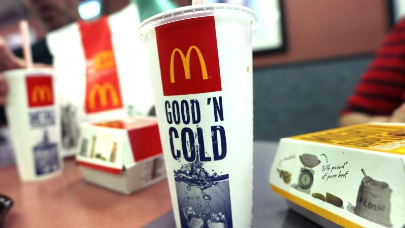 mcdonalds soft drinks one dollar