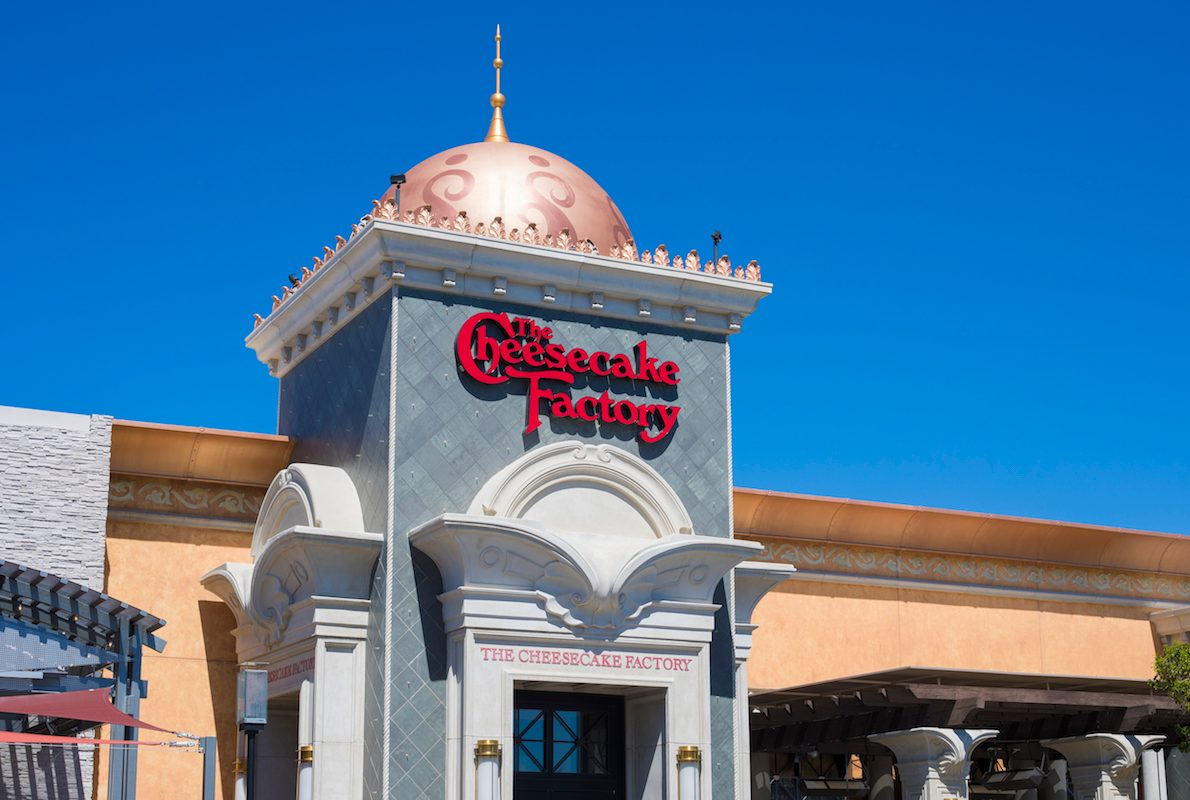 Cheesecake Factory Is Handing Out FREE Cheesecake with Every Pickup Order