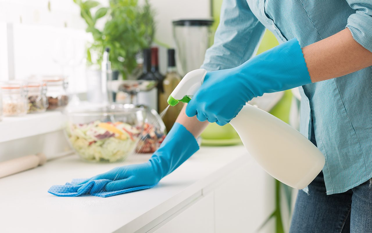 This Is How to Clean & Disinfect Your Home, According to the CDC