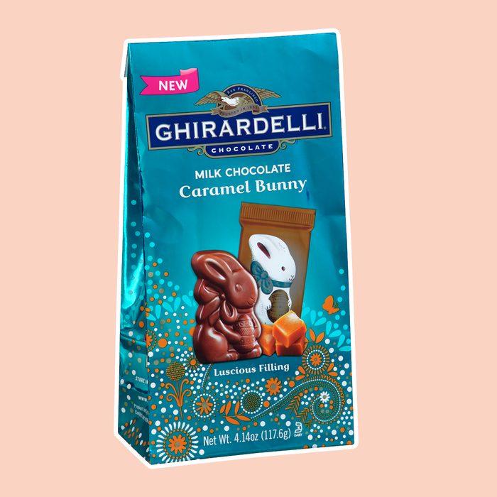 best easter candy Ghirardelli Chocolate Milk Chocolate Caramel Bunny