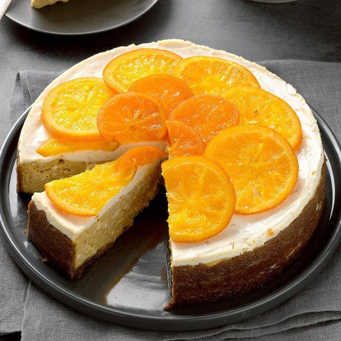 Ginger Pumpkin Cheesecake