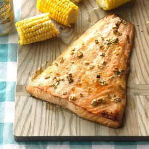 Air-Fryer Gingered Honey Salmon
