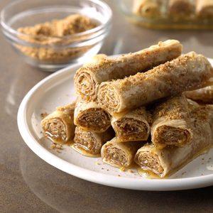 Air-Fryer Honey Cinnamon Roll-ups
