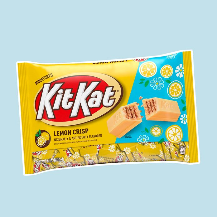 best easter candy Kit Kat Easter Lemon Crisp Miniatures