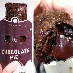 McDonald's Chocolate Pie Is PACKED with Creamy, Chocolaty Goodness