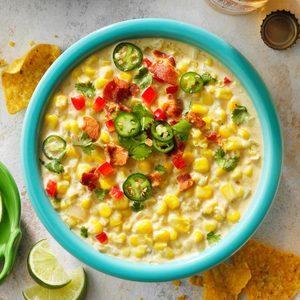 Mexican Street Corn Chowder