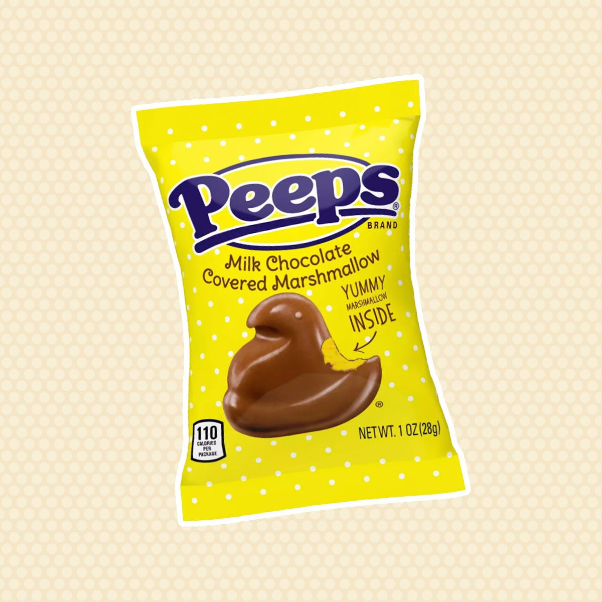Milk Chocolate-Covered Marshmallow Peeps
