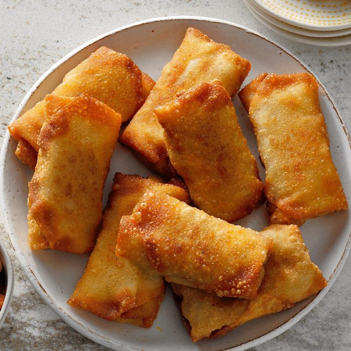 Air-Fryer Mini Chimichangas
