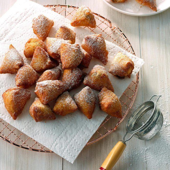 Air-Fryer Mini Nutella Doughnut Holes