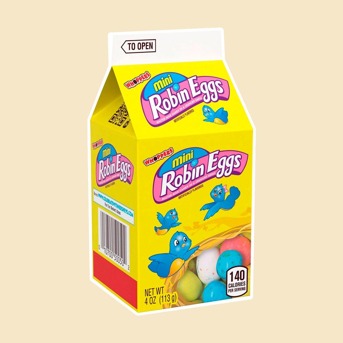 Mini Robin Easter Eggs Mini Carton