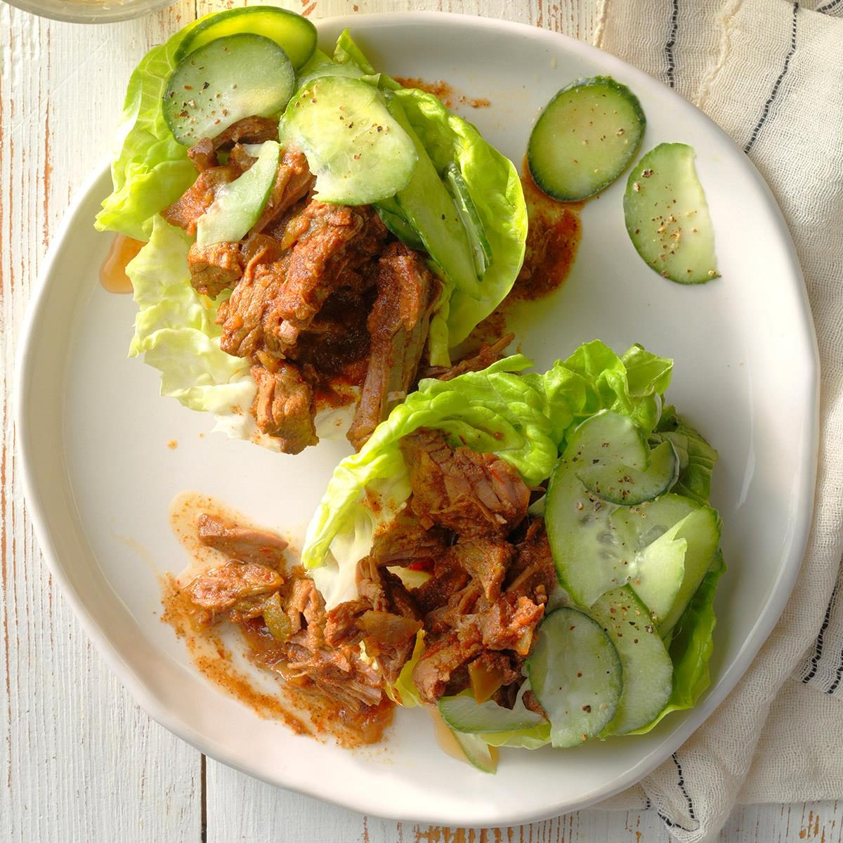 Day 14: Moroccan Lamb Lettuce Wraps