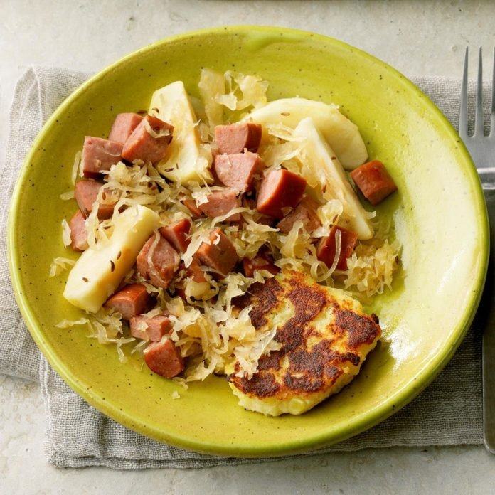 Polish Kraut with Apples