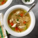 Pressure-Cooker Homemade Chicken and Rice Soup