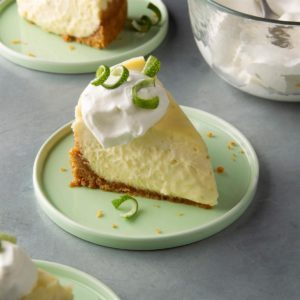 Pressure-Cooker Lime Cheesecake