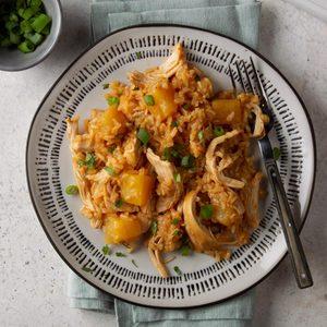 Pressure-Cooker Pineapple Chicken