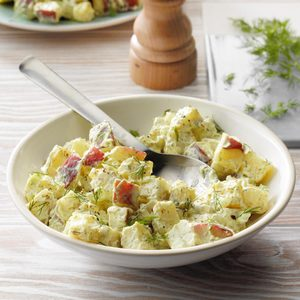Pressure-Cooker Potato Salad