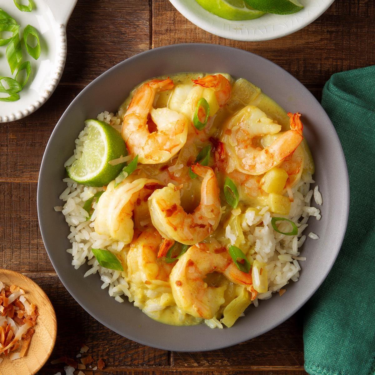 Day 25: Quick Shrimp Curry