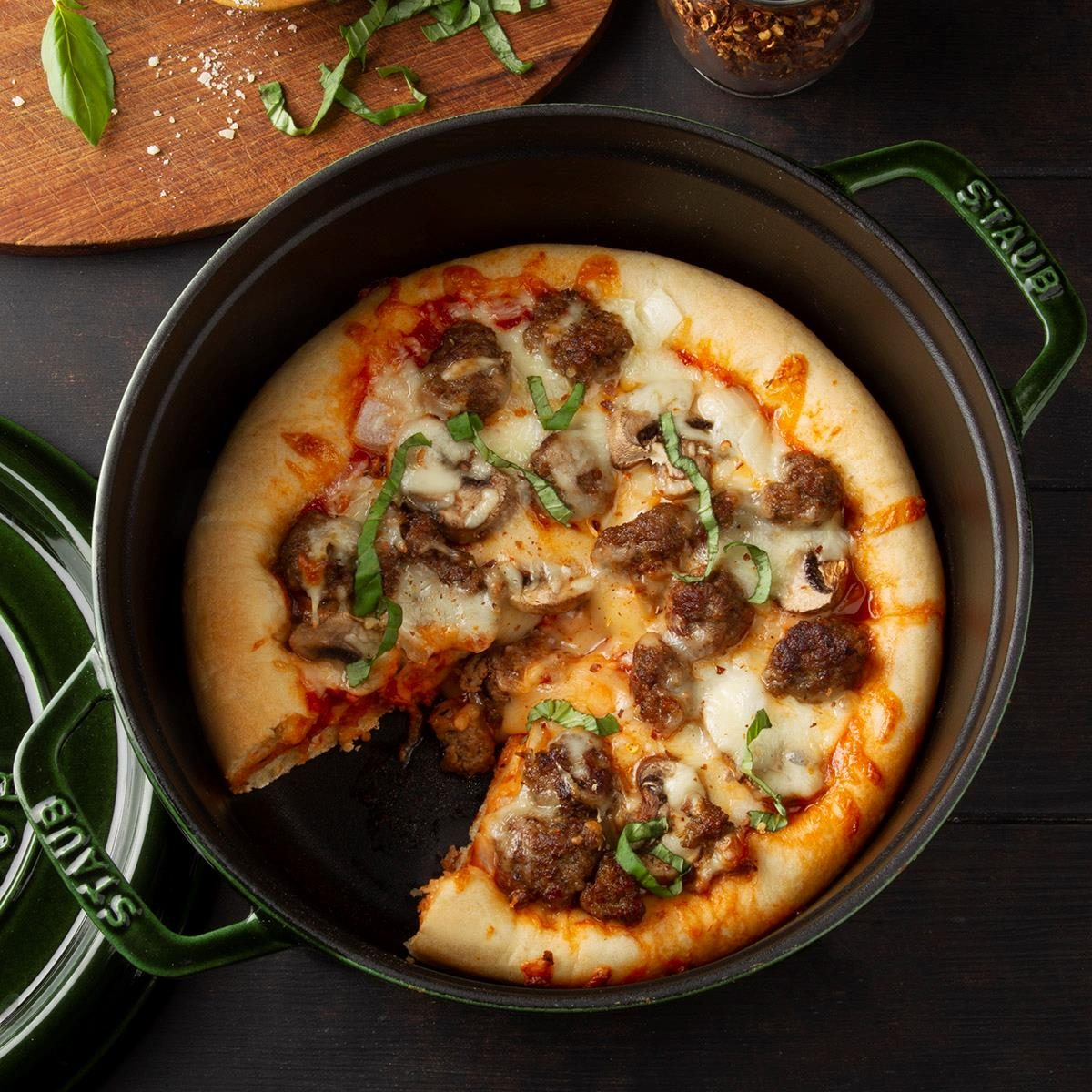 Day 16: Dutch Oven Pizza