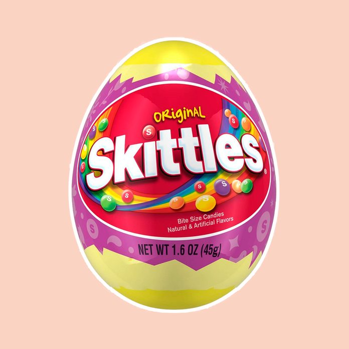 best easter candy Skittles Filled Easter Egg