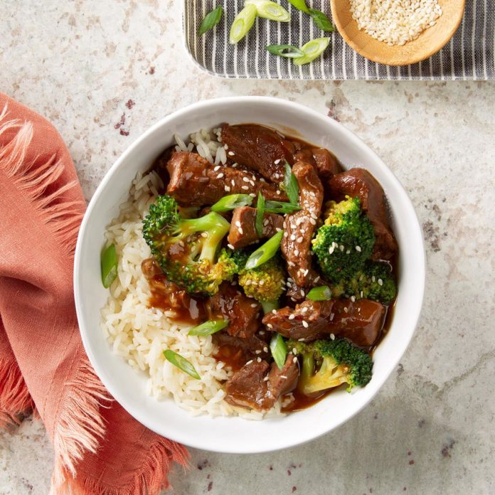 Day 3: Slow-Cooker Beef and Broccoli