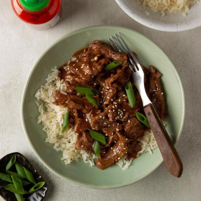 Day 3: Slow-Cooker Mongolian Beef