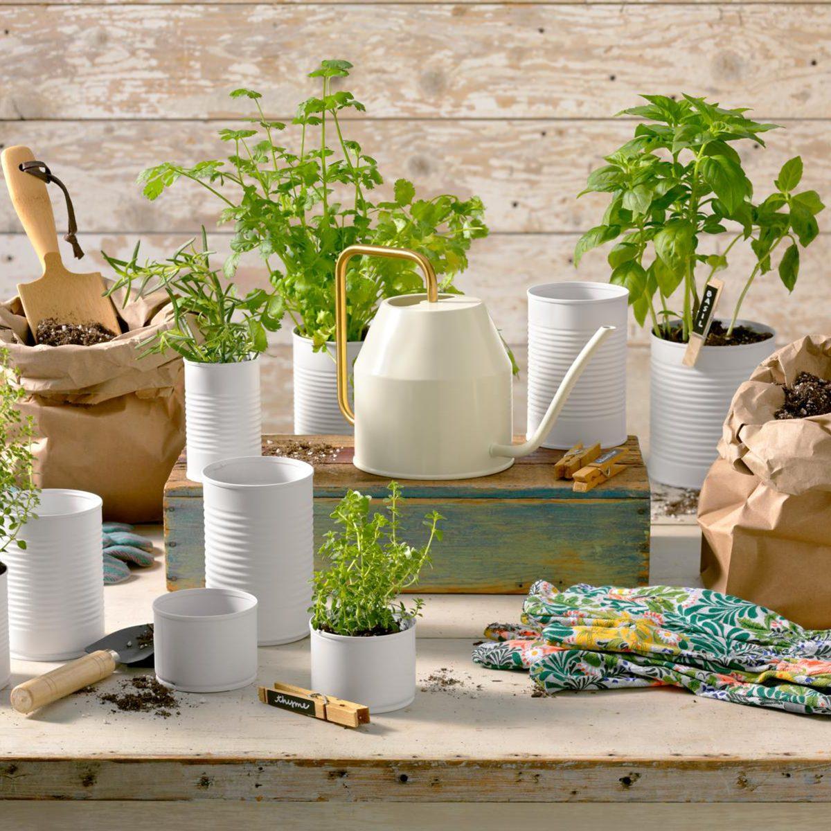 Full gardening spread