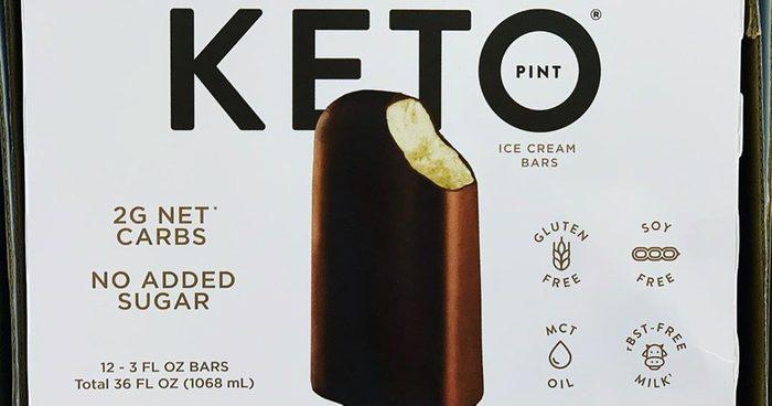 costco keto ice cream bar