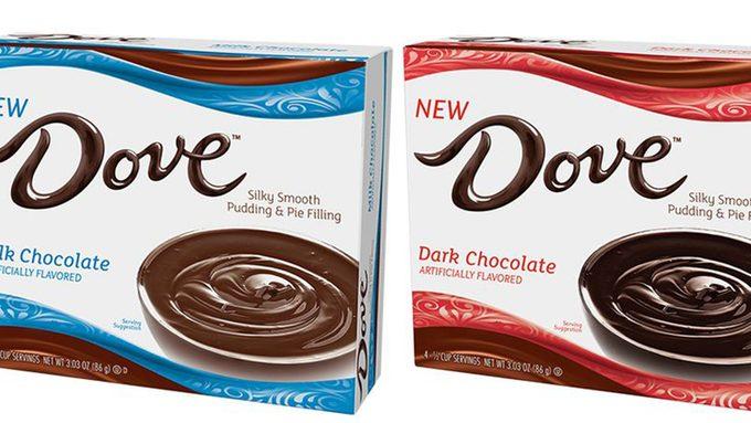 dove chocolate pudding mix