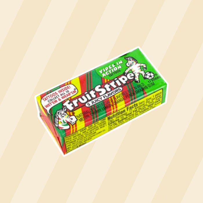 Fruit Stripe Gum, 1.8 Ounce Pack (Pack of 12)