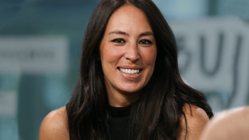 """NEW YORK, NY - OCTOBER 18: Joanna Gaines discusses new book, """"Capital Gaines: Smart Things I Learned Doing Stupid Stuff"""" at Build Studio on October 18, 2017 in New York City. (Photo by Rob Kim/Getty Images)"""