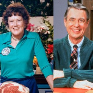 There's a Video of Julia Child and Mr. Rogers Making Spaghetti, and We Can't Stop Watching