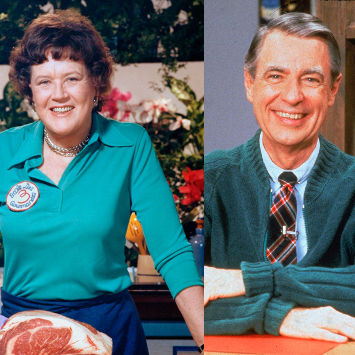 We Love This Video Of Julia Child And Mr Rogers Cooking Together