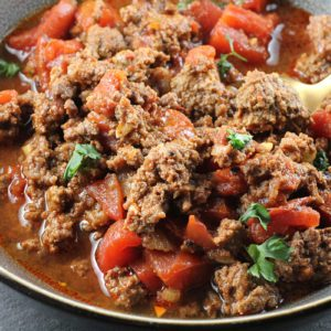 How to Make Low-Carb Keto Chili in a Slow Cooker