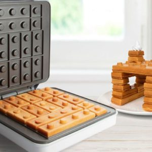 This Lego Waffle Maker Lets You Play with Your Food—Literally!
