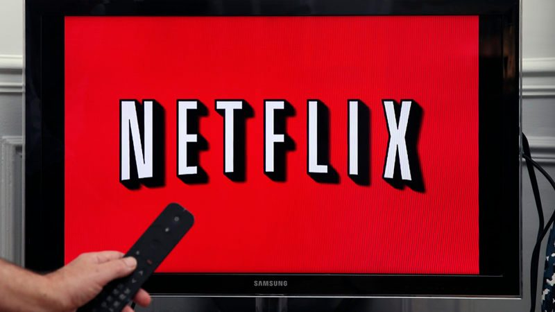 PARIS, FRANCE - FEBRUARY 13: In this photo illustration, the Netflix media service provider's logo is displayed on the screen of a television on February 13, 2019 in Paris, France. Netflix, the US giant of online video subscription, has more than 5 million subscribers in France, 4 and a half years after its arrival in France in September 2014, a spokesman for the company revealed on Wednesday. Netflix offers movies and TV series over the internet and now has 137 million subscribers worldwide. (Photo by Chesnot/Getty Images)