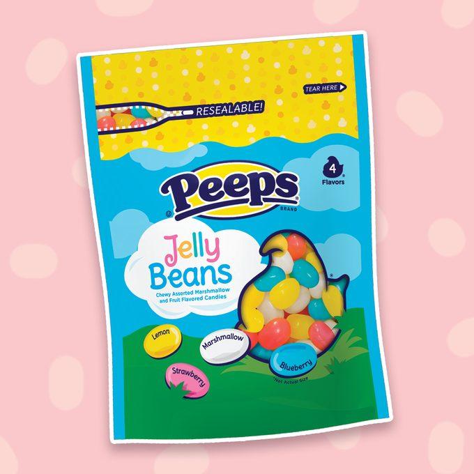peeps jelly beans