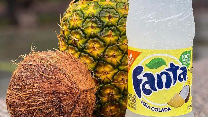 pina colada fanta pineapple coconut
