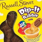 Russell Stover's New Chocolate Bunny Comes with Jif Peanut Butter for Dipping