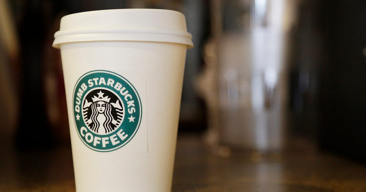Starbucks Is Saying Thank You with Free Coffee for First Responders and Hospital Staff