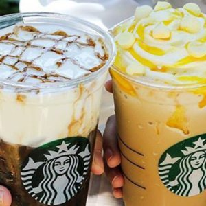 The Starbucks Lemon Meringue Frappuccino Looks (and Tastes!) Like a Cup of Granted Wishes