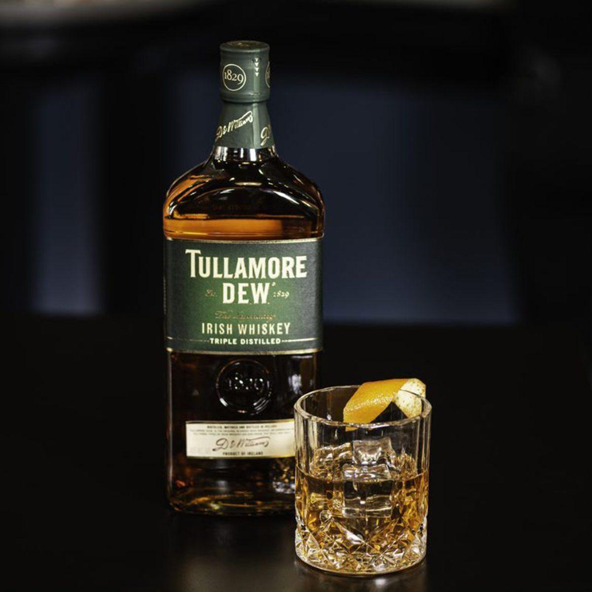 the o'everyone cocktail Tullamore D.E.W