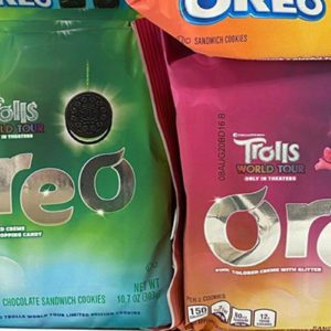 Oreo Is Making Limited Edition Cookies with Pink and Green Glitter Creme Filling