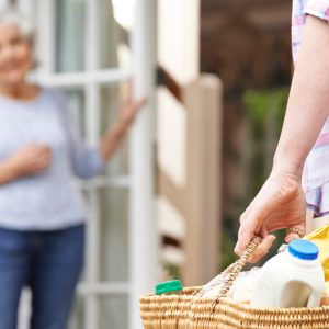 'Shopping Angels' Are Delivering Groceries to People in Need Right Now