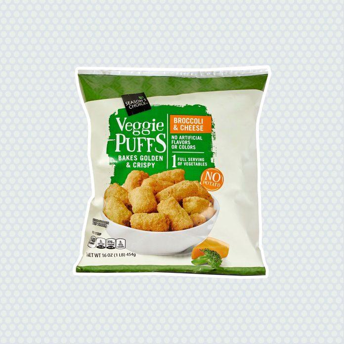 aldi finds Sc Veggie Puffs Broccoli Cheese