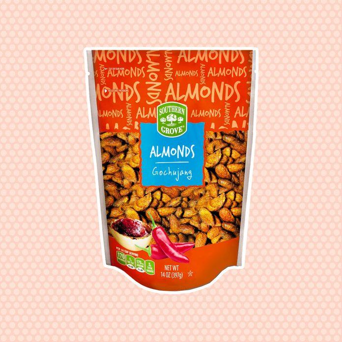 aldi finds Sg Spiced Almonds Gochujang