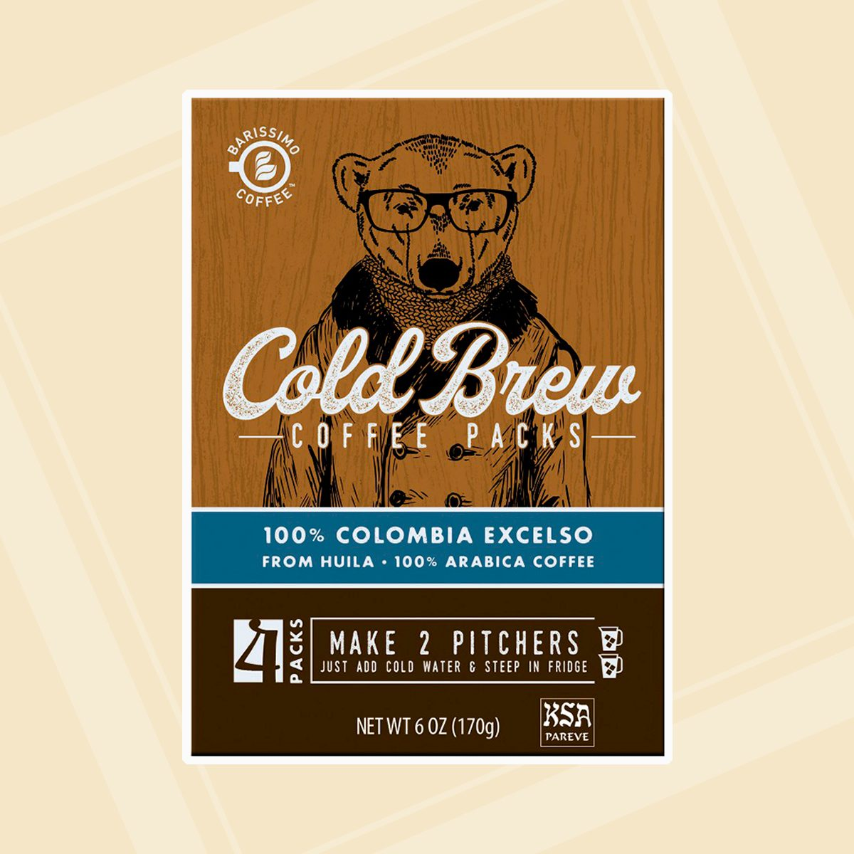 Barissimo Cold Brew Coffee Kit Colombian
