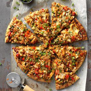 Cashew Chicken Pizza
