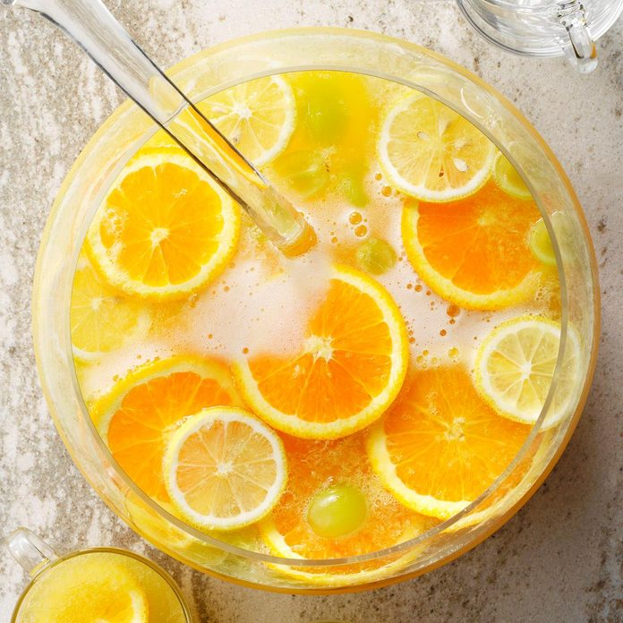 Citrus & White Grape Juice Party Punch