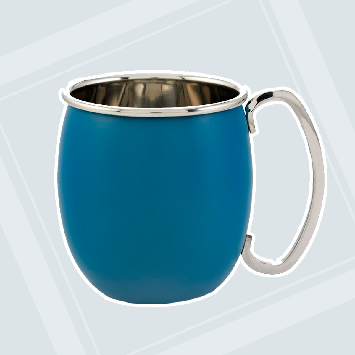 Crofton Powder Coated Moscow Mule Mug Teal